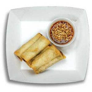 East Street Kiosk Vegetable Spring Rolls